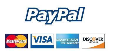 logo paypal con tarjetas