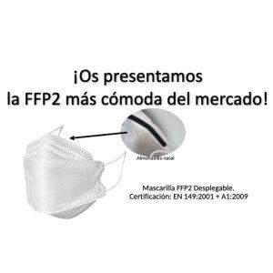 FFP2 desplegable