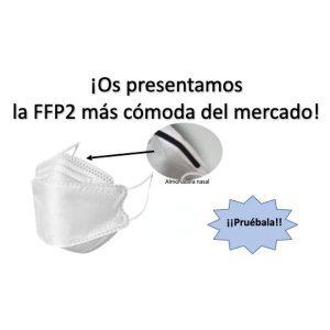 Producto Mascarilla FFP2 desplegable